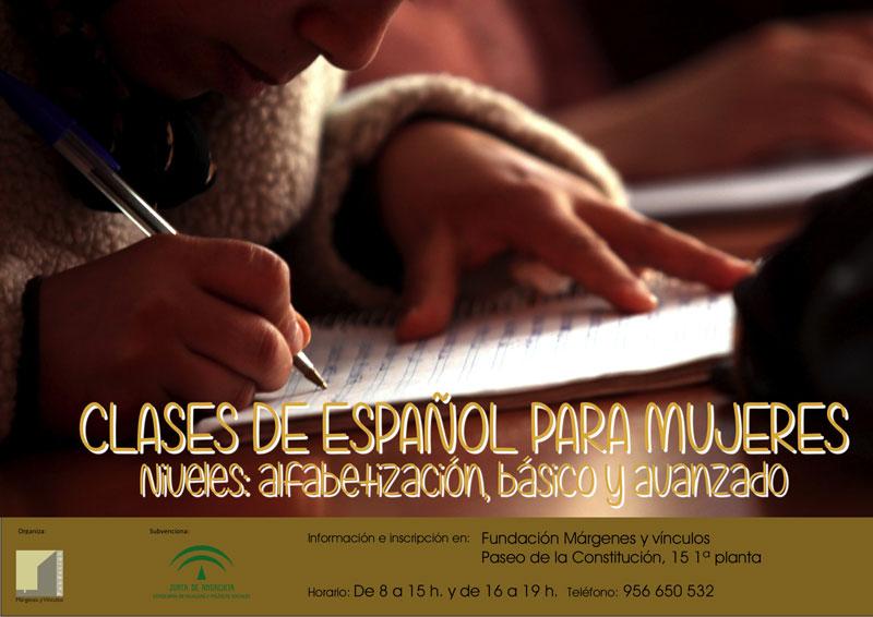 La Fundación Márgenes y Vínculos impartirá clases de español para mujeres