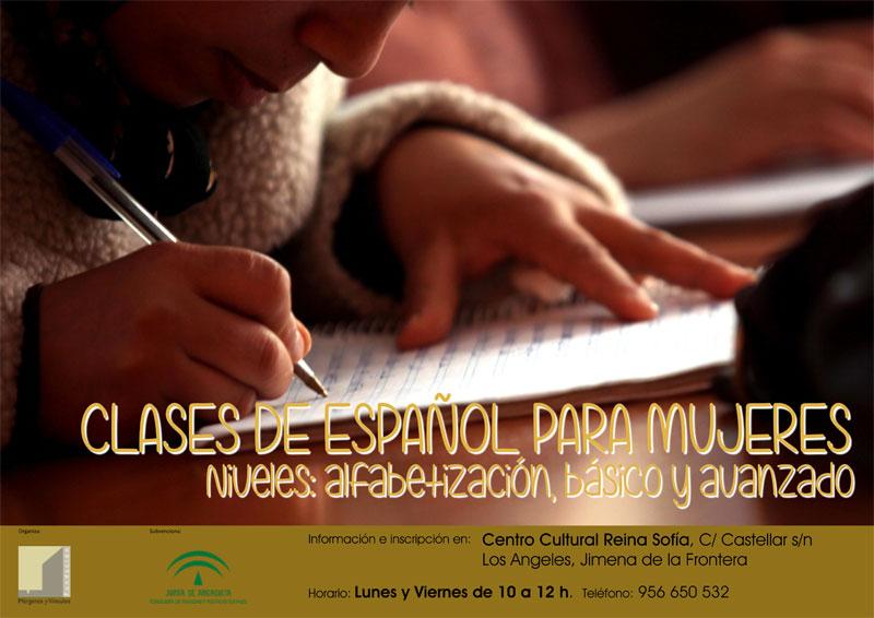 Comienzan las clases de alfabetización en Jimena de la Frontera