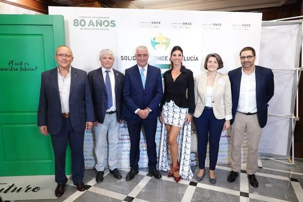 Granada welcomes the delivery of the ONCE Andalucía Solidarity Awards