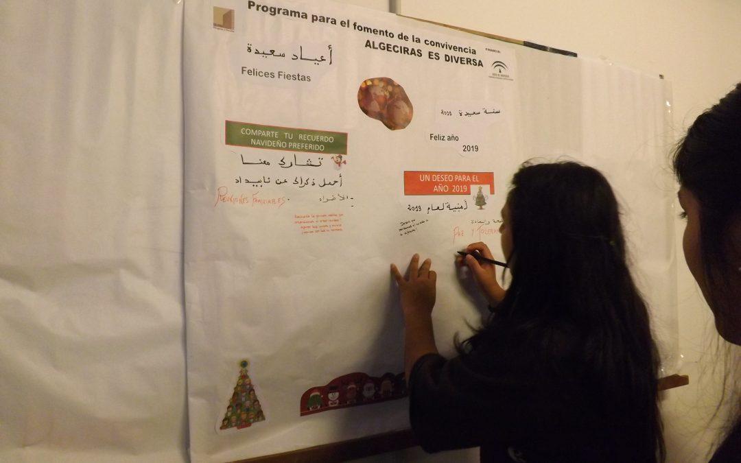 Una animada merienda navideña inaugura el programa de diversidad intercultural ALGECIRAS ES DIVERSA