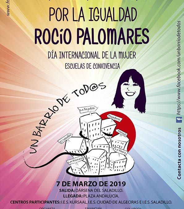 Un barrio de todos organiza para mañana 7 de marzo una carrera escolar por la igualdad con varios institutos de Algeciras