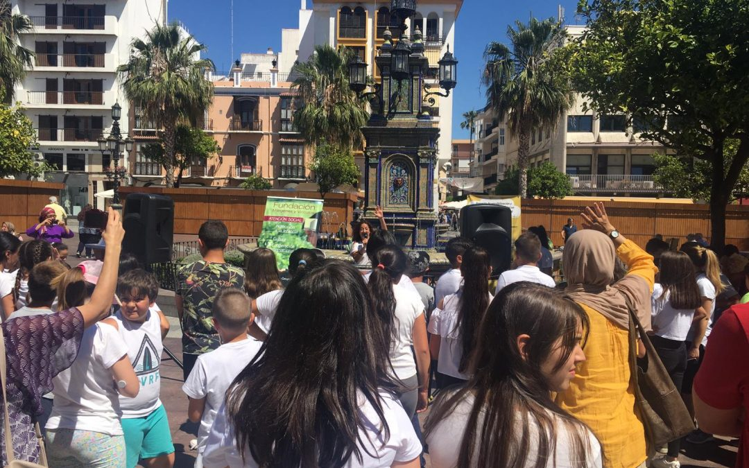 Un Barrio de Todos celebra el Día Internacional de la Diversidad Cultural con alumnos y alumnas de la barriada de La Piñera