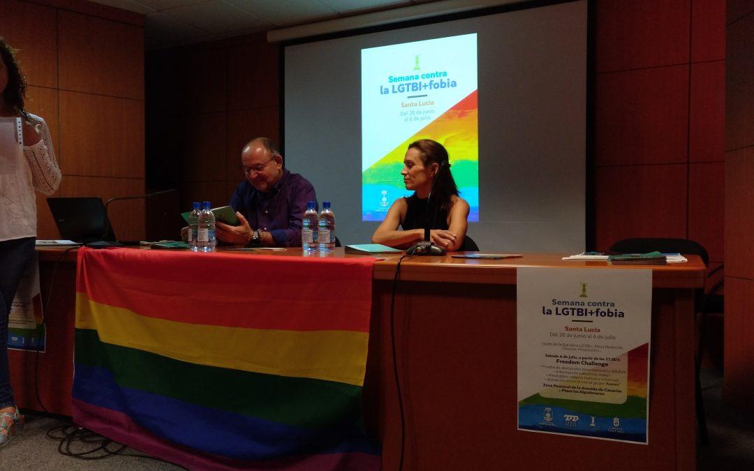 Participación en la Semana contra la LGTBI+Fobia