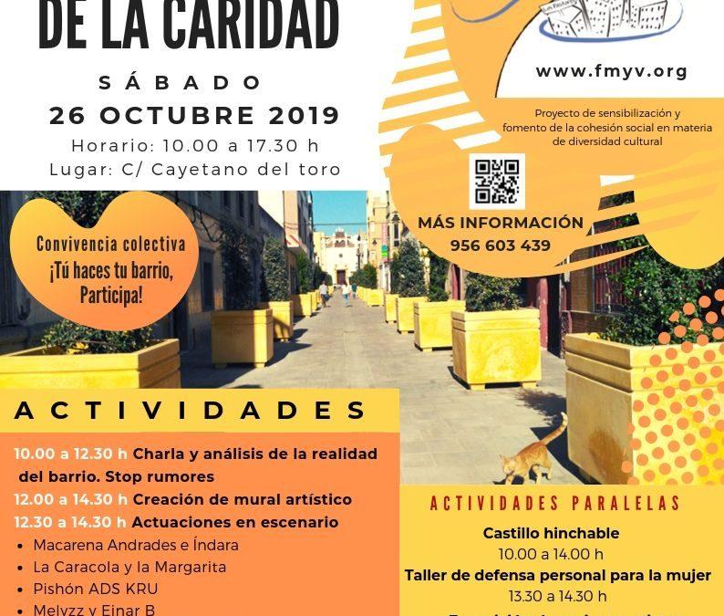 El Barrio de La Caridad disfrutará de una jornada de convivencia intercultural organizada por Un Barrio de Tod@s