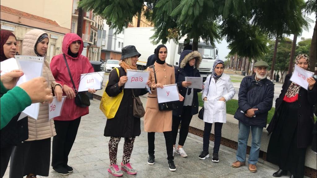 Márgenes y Vínculos clausura su Círculo de lectura con una apuesta firme por la ciudadanía a pesar de la lluvia en Algeciras