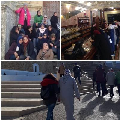 Mujeres en formación para la búsqueda activa de empleo de Algeciras visitan la fábrica Aromas de Medina