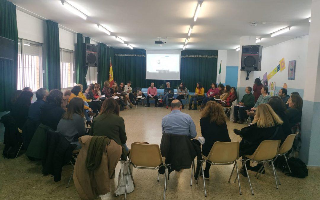 Reunión del Círculo Local de Prevención de Maltrato organizado por la Fundación Márgenes y Vínculos