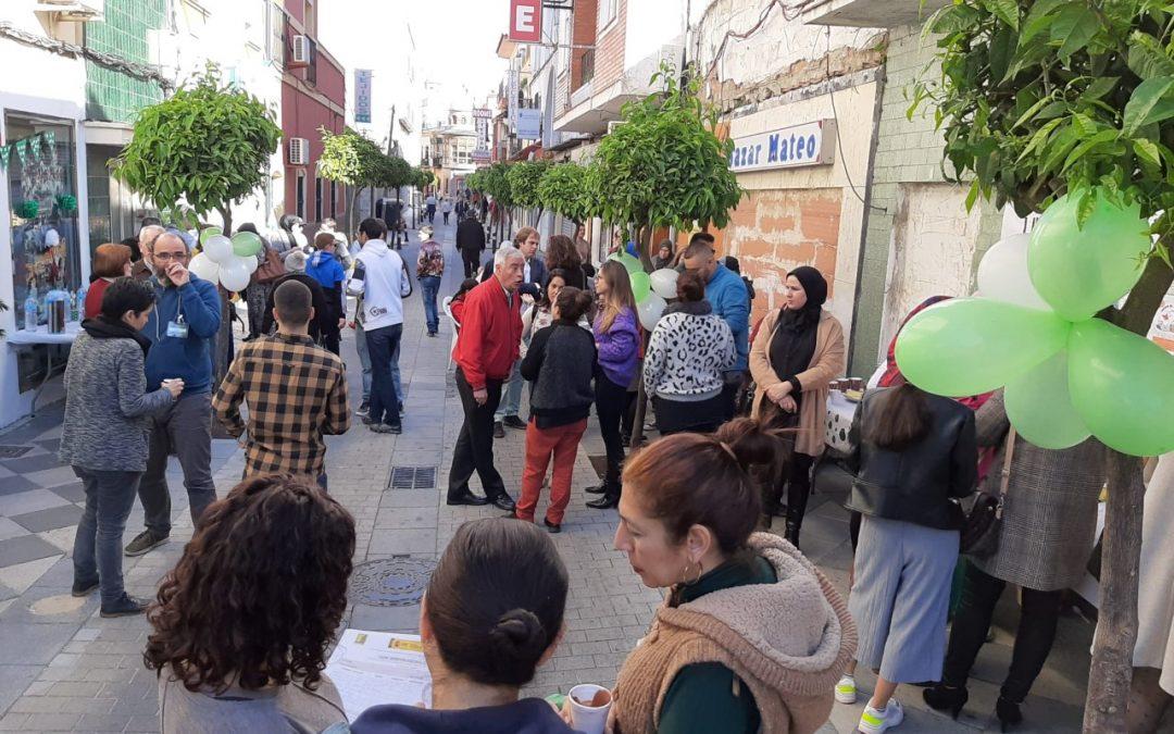 Un barrio de todos celebra el Día de Andalucía con un encuentro gastronómico en el barrio de la Caridad de Algeciras