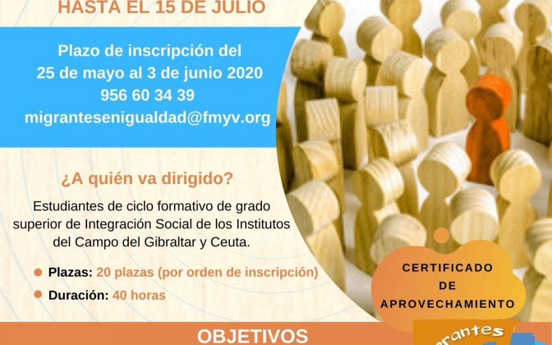 La Fundación Márgenes y Vínculos imparte un curso online sobre racismo, xenofobia y otras formas de intolerancia