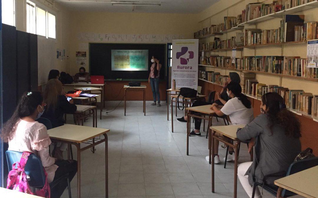 Doce mujeres se convierten en promotoras de salud entre sus familias y vecinos de Algeciras