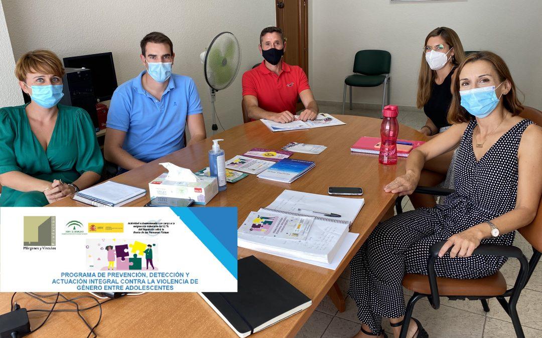 Reunión con el Dir. Gral. de Violencia de Género, Igualdad de Trato y Diversidad de Andalucía