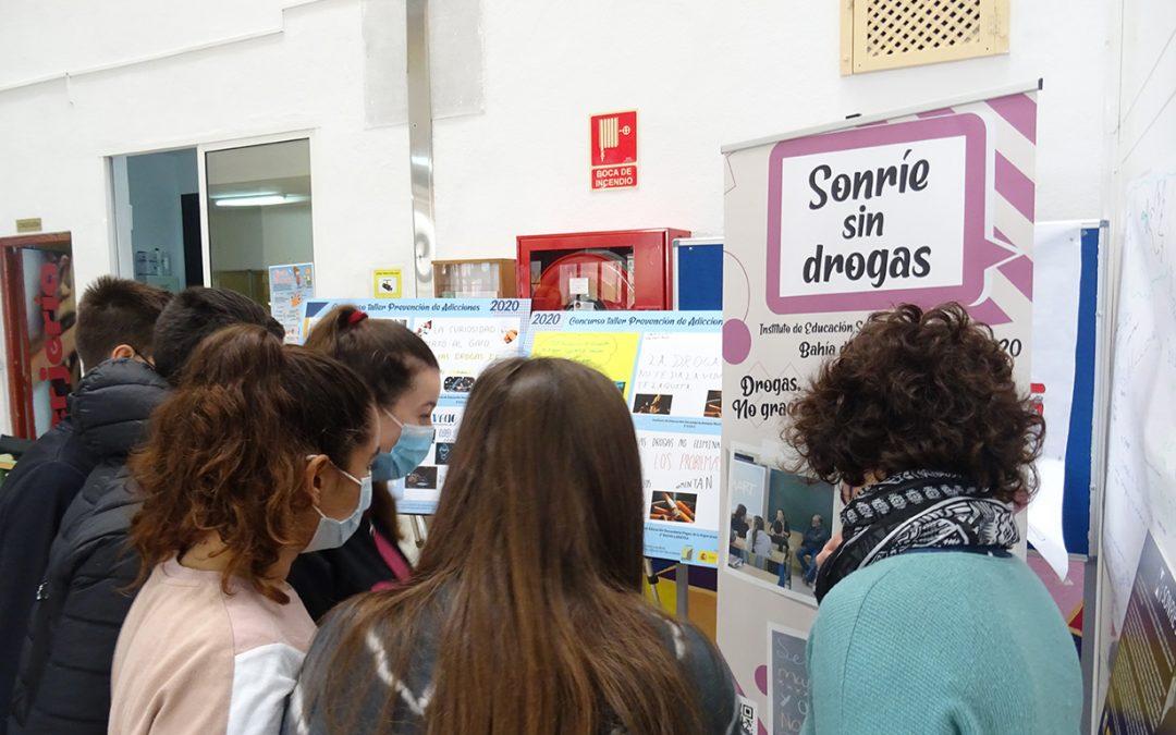 Márgenes y Vínculos expone Sonríe sin drogas, una muestra de fotos hechas por alumnos/as de institutos de Algeciras y La Línea