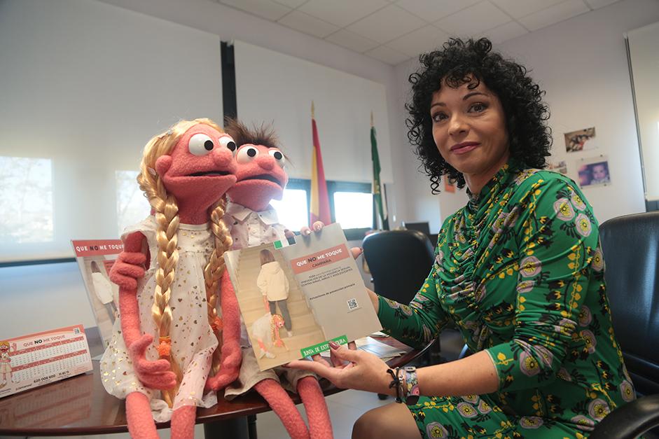 La campaña de prevención de la violencia sexual contra la infancia Que no me toque llega a todos los municipios de Extremadura