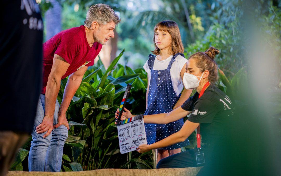 Ana y el árbol concluye su rodaje en Cádiz y ahora empieza la grabación de sus efectos especiales y la posproducción